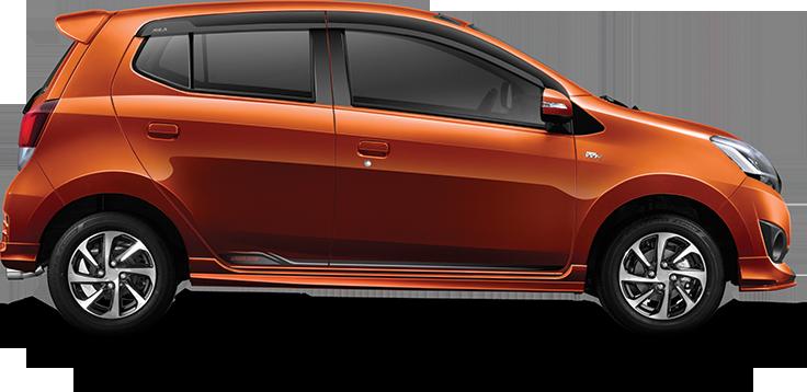 Eksterior Mobil Astra Daihatsu Ayla Dengan Varian Mesin 1.2 L