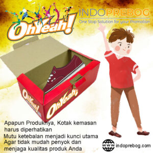 Pembuatan Custom Box Packaging